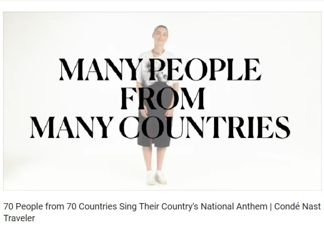 70 national anthems
