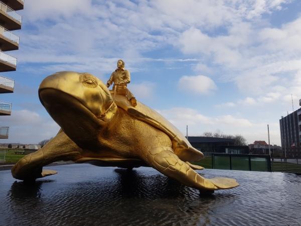 gouden schildpad